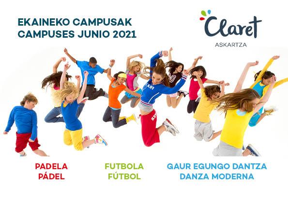 Campuses deportivos junio 2021